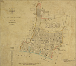 Castle-Baynard ward a new survey 1794